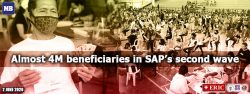 Almost 4M beneficiaries in SAP's second wave