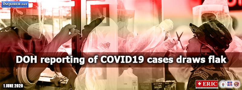 DOH reporting of COVID-19 cases draws flak