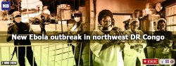 New Ebola outbreak in northwest DR Congo: health ministry