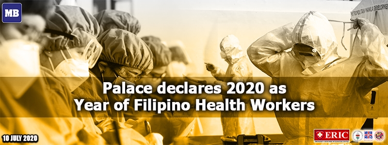 Palace declares 2020 as Year of Filipino Health Workers