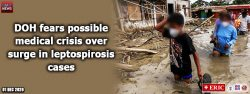 DOH fears possible medical crisis over surge in leptospirosis cases
