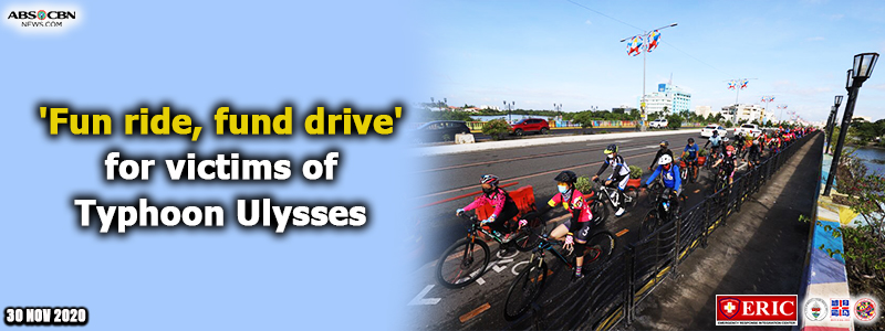 'Fun ride, fund drive' for victims of Typhoon Ulysses
