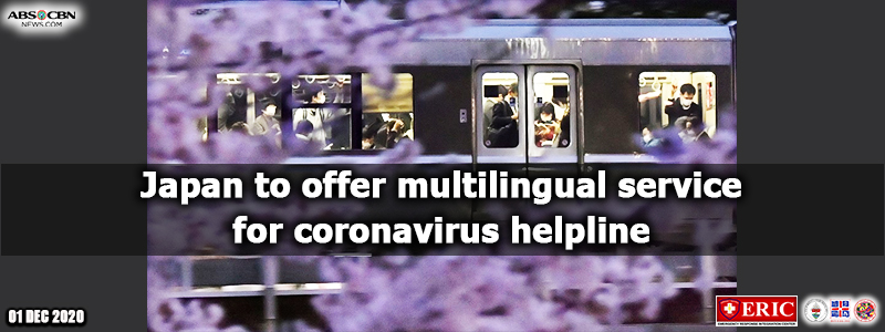Japan to offer multilingual service for coronavirus helpline