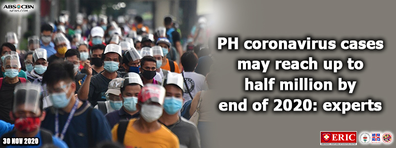 PH coronavirus cases may reach up to half million by end of 2020: experts