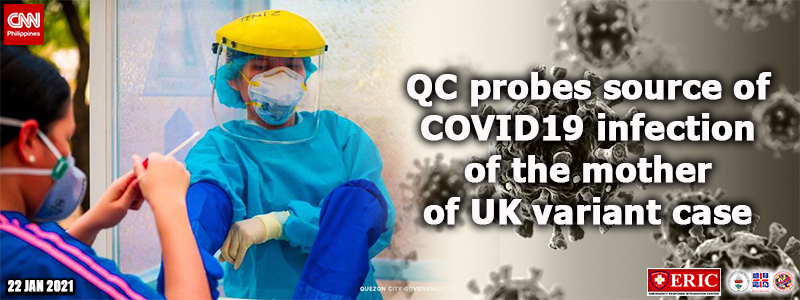 QC probes source of COVID-19 infection of the mother of UK variant case