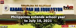 Philippines extends school year to July 10, 2021