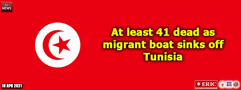 At least 41 dead as migrant boat sinks off Tunisia