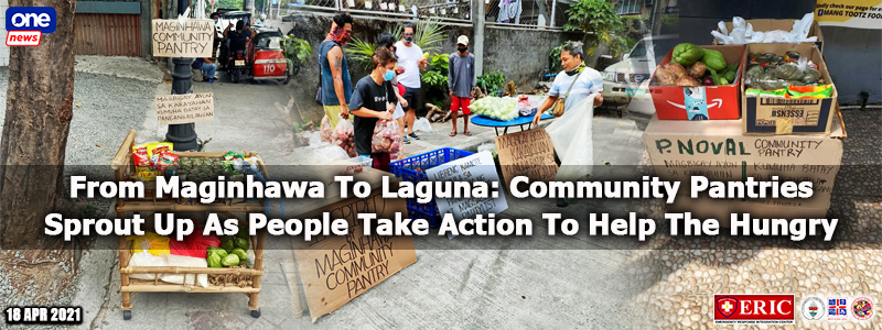 From Maginhawa To Laguna: Community Pantries Sprout Up As People Take Action To Help The Hungry