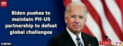 Biden pushes to maintain PH-US partnership to defeat global challenges