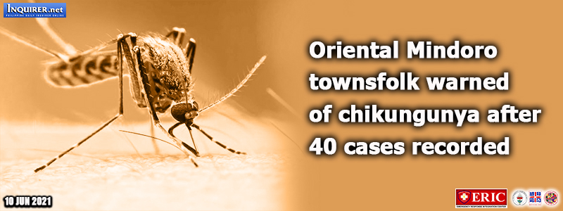 Oriental Mindoro townsfolk warned of chikungunya after 40 cases record