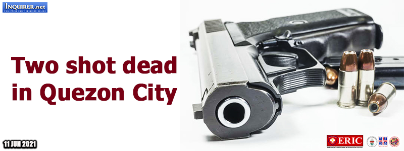 Two shot dead in Quezon City