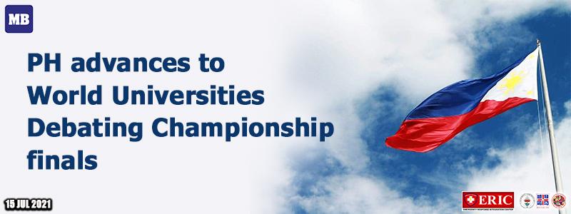 PH advances to World Universities Debating Championship finals