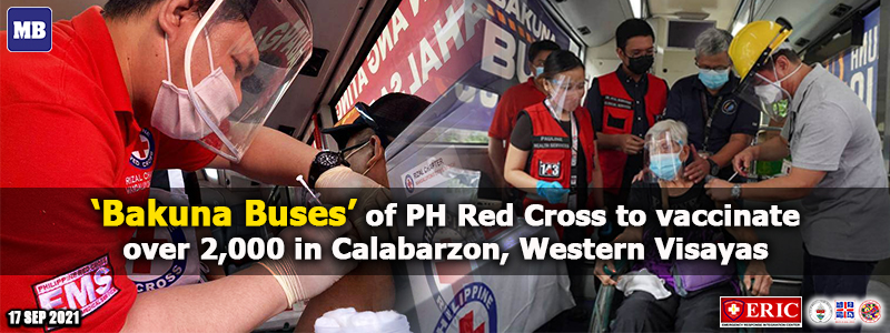 'Bakuna Buses' of PH Red Cross to vaccinate over 2,000 in Calabarzon, Western Visayas