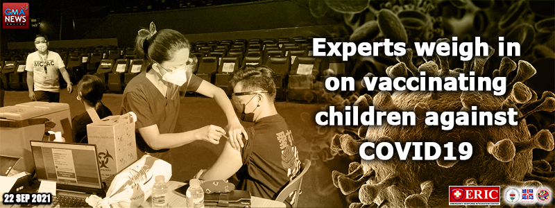 Experts weigh in on vaccinating children against COVID-19