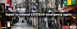 Japan to extend COVID-19 emergency again
