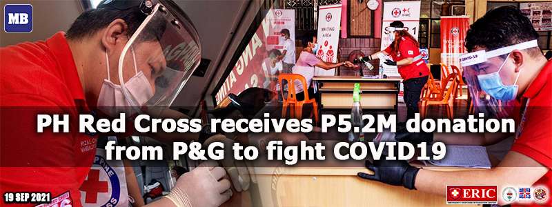 PH Red Cross receives P5.2M donation from P&G to fight COVID-19