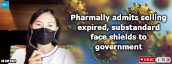 Pharmally admits selling expired, substandard face shields to government